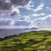 Derrynane National Park Along Ring Of Kerry, Ireland Poster