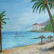 Descanso Beach, Catalina Poster