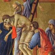 Descent From The Cross Fragment 1311 Poster