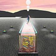 Desert Aquarium Poster