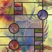 Desert Blossoms - Square Version Poster