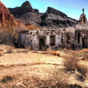 Desert Church Poster
