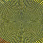 Desert Marigold Flowers Abstract #2 Poster