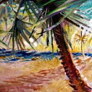 Desert Seashore Poster