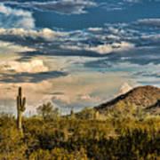 Desert Sky - San Tan Arizona Poster