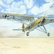 Desert Storch Poster