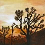 Desert Sunset II Poster