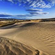 Desert Texture Poster