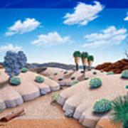 Desert Vista 2 Poster by Snake Jagger