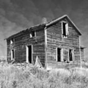 Deserted Home On The Range Poster