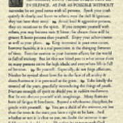Desiderata Poem On Parchment Poster
