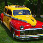 Desoto Skyview Taxi Poster