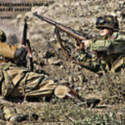 Destiny - Us Army Infantry Poster