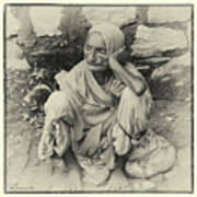 Destitute On The Ganges Poster