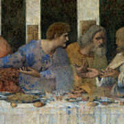 Detail From The Last Supper Poster