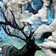 Detail Of Winter Poster by Kimberly Simon