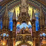 Details Notre Dame Montreal Poster