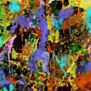 Detour Abstract Art Poster