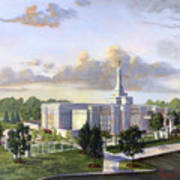 Detroit Michigan Temple Poster