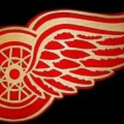 Detroit Red Wings - Scrolled Poster