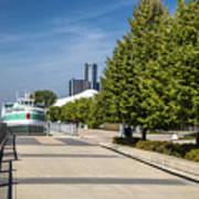 Detroit Riverfront 2 Poster