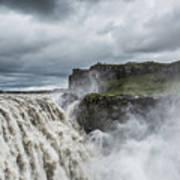 Dettifoss Waterfall Poster