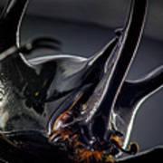 Devil Horns Macro Poster