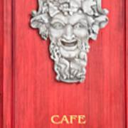 Devil Sculpture Poster
