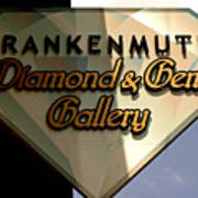 Diamond And Gem Gallery Poster