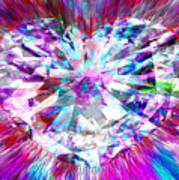 Diamond Heart Poster