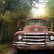 Diamond T Truck Poster