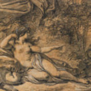 Diana And Actaeon Poster