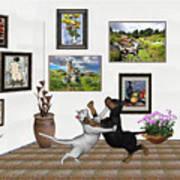 Digital Exhibition _ Dancing Lovers Poster