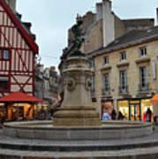 Dijon Fountain Poster