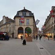 Dijon Street Corner Poster