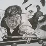 Ding Junhui Snooker Poster