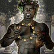 Dionysus God Of Grape Poster