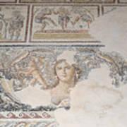 Dionysus Mosaic Mona Lisa Of The Galilee Poster