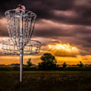 Disc Golf Anyone? Poster