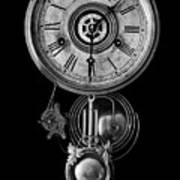 Disembodied Time Poster by Joe Bonita