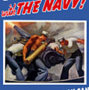 Dish It Out With The Navy Poster
