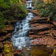 Dismal Falls In Autumn Poster