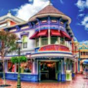 Disney Clothiers Main Street Disneyland 01 Poster
