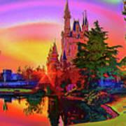 Disney Fantasy Art Poster