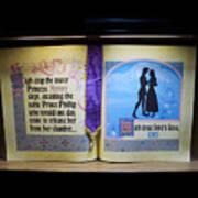 Disneyland Waiting For True Loves Kiss Poster