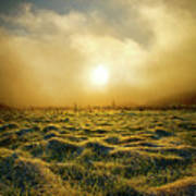 Distant Mist Horizon Poster