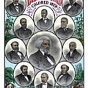 Distinguished Colored Men Poster