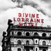 Divine Lorraine Hotel Marquee Poster