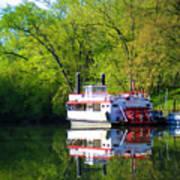 Dixie Belle River Boat Poster