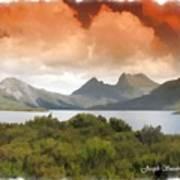 Do-00140 Cradle Mountains Poster